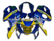 CBR600 F4 for Honda CBR 600 F4 1999 2000 CBR600RR F4 99-00 CBR 600RR F4 1999-2000 ABS Body Kits Blue Yellow