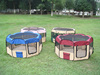 Folding Fabric Pet Playpen with Eight Panels