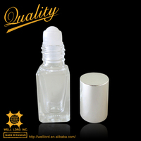 International cute silver 6ml roll on bottle