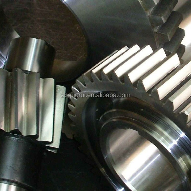 all kinds of speed reducer and transmission gears.