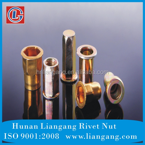 China Made AVK Standards Brass Blind Rivet <strong>Nut</strong>