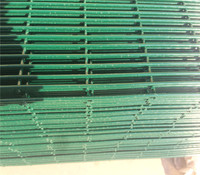 Anping cheap price pvc coated anti climb security fence in stock