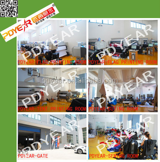 Factory wholesale custom advertising teardrop flag banners