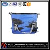 Wholesale cheap portable zipper white tarpaulin waterproof pvc travel sports duffel bag