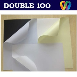double100 manufacturer self adhesive paper sheet for photo album