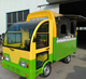 Electric Street Restaurant Food Car for Waffles and ice cream/Truck Made in China