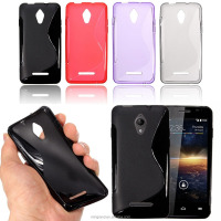 8 Colors Soft TPU Gel Silicone Case Cover Skin For Vodafone Smart 4