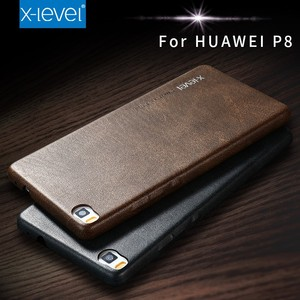 [X-Level] 2017 New PU Cover for Huawei P8 Lite Case IN STOCK