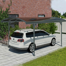 Good waterproof economic carports garages with polycarbonate roof