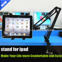 New gadgets 2014 tablet stand Mini Portable Flexible holder stands for ipad stand in bed/table mobilefunny tablet holder