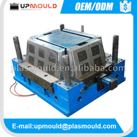OEM design injection plastic molding supplier Plastic fish crate mold
