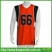 Custom Made and Sublimation Printing Basketball Jersey