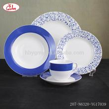 Hot selling korean dinnerware with beautiful arc decor YGG17201