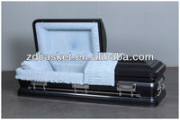 Adult funeral caskets coffins for the dead(9302)