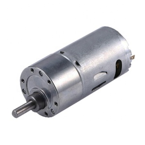 37mm 1500 RPM DC 12V 24V Encoder Gear Motor