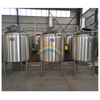 Industrial Micro Beer Brewing Equipment With