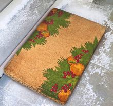 Welcome Dye Sublimation Christmas Coir Mats
