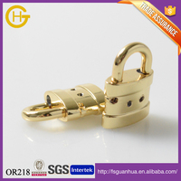 Hot sale different gold decorative metal lock