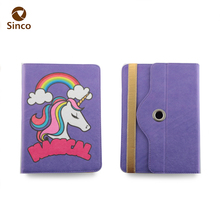 New design beautiful PC back cover pu leather flip tablet case for iPad