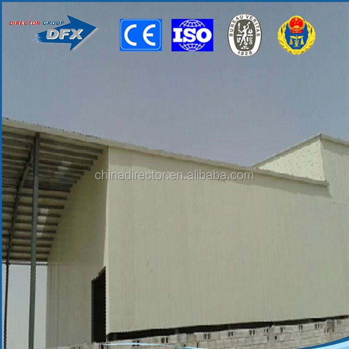 pre-engineering commercial usage steel structure building and house