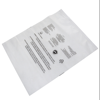 resealable ldpe plastic clear poly bag with suffocation warning label seal