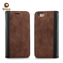 high quality flip leather mobile phone case sublimation cell phone cases for iphone7