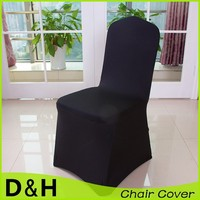 Wholesale high quality spandex chair cover flat base for wedding banquet hotel