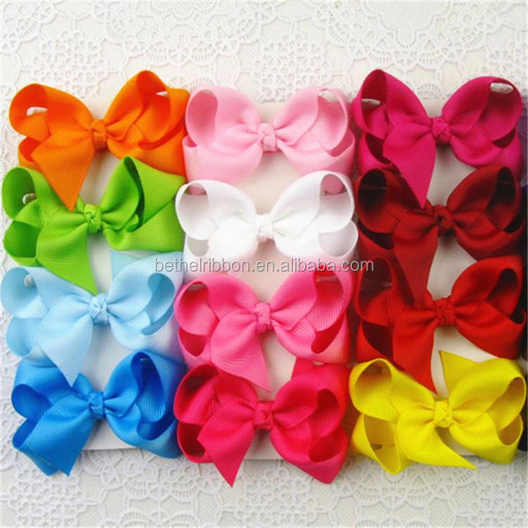 Special hot-sale hair bows with letter a z