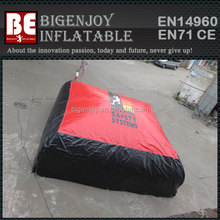 High quality jumping inflatable air cushion for snow skiing