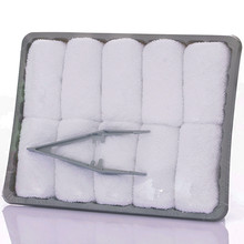 China supplier cotton aviation disposable facial airline towel