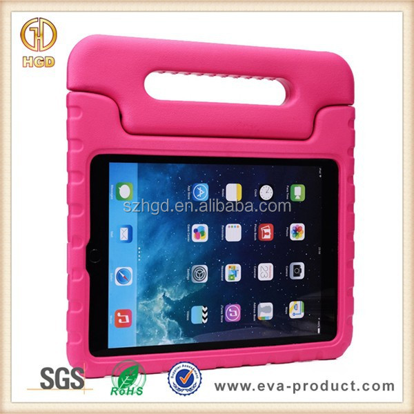 New Kids Safe Hard Protective Case for iPad Air 2 With Carrying Handle