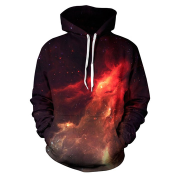 2018 fashion 3d sublimation printing polyester hoodies for men