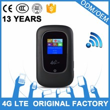 stable quality China good supplier OEM ODM munufacturer 4g wifi hotspot with sim card slot