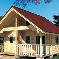 Fast Assembled Wooden Prefab House Log