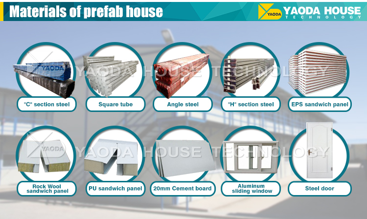 18years experience ---Mobile house cheap prefabricated home built in Africa