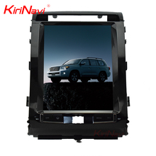 KiriNavi WC-TL1215 android 6.0 12.1 inch Vertical screen car dvd player for Toyota Land Cruiser Prado 2012 - 2015 gps navigation