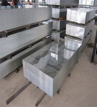 Galvanized Zinc Sheet, Steel Material Zinc Galvanized Roof Sheet Price