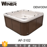 new products 2017 innovative product China supply home indoor 2 person balboa sex massage acrylic spa hot tub