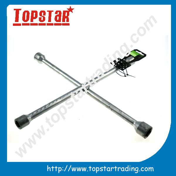 high quality tyre cross wrench 4 ways cross car wheel wrench