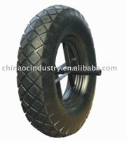 Tire PR3006-4 wheelbarrow wheel Tyre tube hot sale