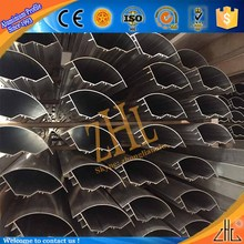 Hot! OEM aluminum trunking panel, aluminum extrusions parts profile aluminum panel