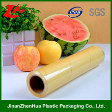high quality high stretch dustproof hot sales pvc cling film korea for food wrap