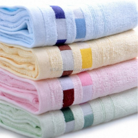 4-pieces Bamboo Towels cheap Hand Towels for Bathroom Towels Sets