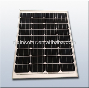 12V/ 80W Monocrystalline silicon sunpower photovoltaic cell