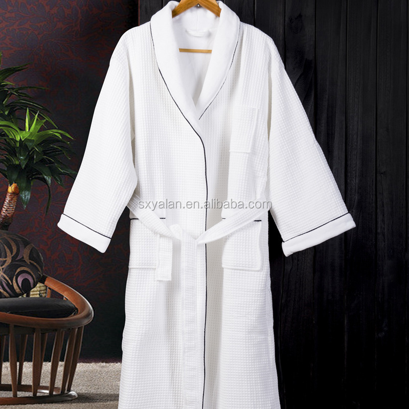 China wholesale men and women winter termal thick hotel bath robe