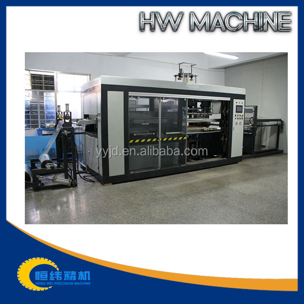 Plastic Vacumm Forming Machine With Two-Zone Continuous Furnace