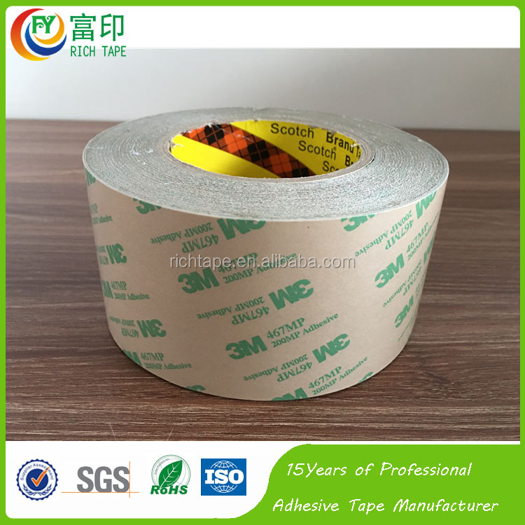 3M 467MP Double Sided Transfer Tape For Membrane Switch Foam Tape