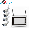 "Factory price 4 wireless IP Camera 11""LCD monitor NVR kit"