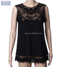 designer western tops images Lace Hollow T Shirt Fashion elegant ladies casual tops blouses