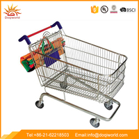 Supermarket Reusable Foldable Grocery Insulated Shopping Cart Bag